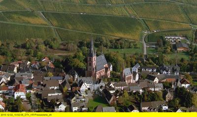 Hessen von oben: Kirchen und Klöster
