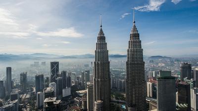 Malaysia von oben