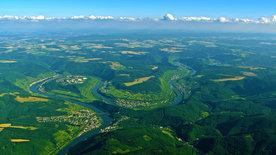 Deutschland von oben 4 - Fluss