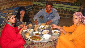Zu Tisch ... in Ägypten