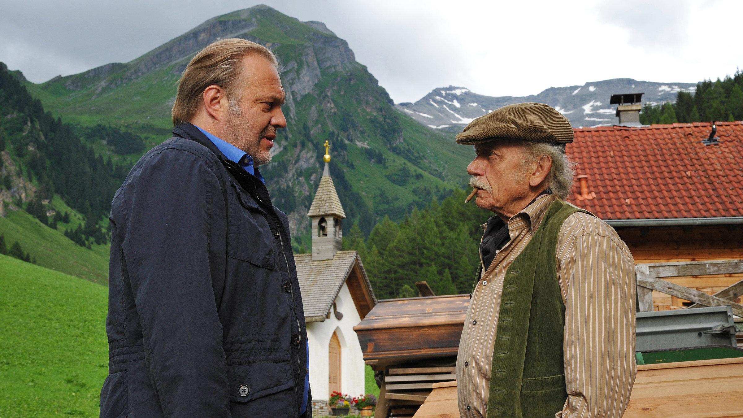 der alte mord in den alpen