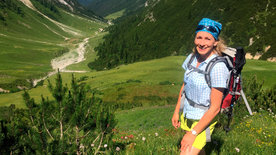 Komm, wir wandern über die Alpen