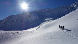 Winteridylle in Vorarlberg -<br/>Auf Schiern über Berg und Tal