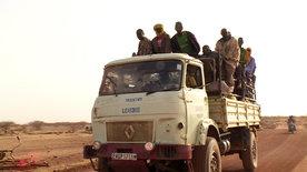 Auf heißen Rädern durch Afrika