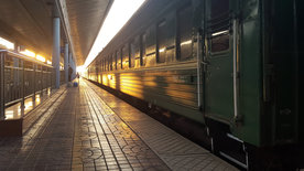 Mit dem Zug durch die Mongolei