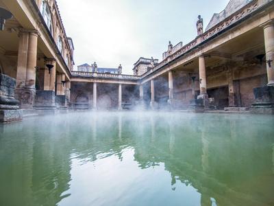 Legendäre Badehäuser - Römische Bäder, Bath
