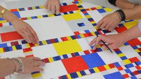 Das Geheimnis der Meister - Mondrian