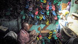Afrikanische Improvisations-Künste
