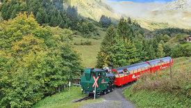 Zahnrad, Dampf und Hochgebirge -<br/>Die Brienz-Rothorn-Bahn