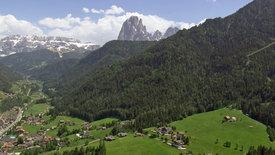 Norditalien von oben