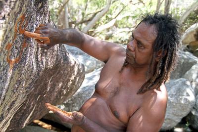Die sprechenden Felsen der Aborigines