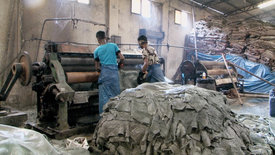 Giftiges Leder: Made in Bangladesh
