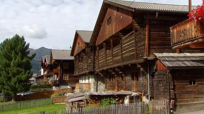 Obertilliach - Das hölzerne Dorf