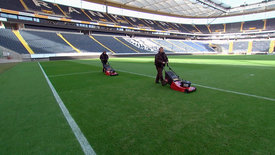 Hessenreporter: Großputz im Stadion