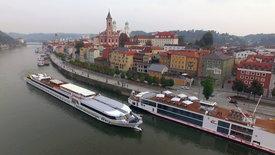 Eine Flusskreuzfahrt durch Bayern