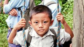 Die gefährlichsten Schulwege der Welt: Nepal