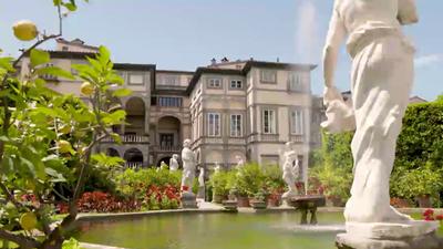Villengärten in der Toskana - Der Palazzo Pfanner in Lucca
