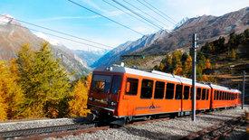 Glacierexpress - Von St. Moritz zum Matterhorn