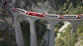 Traumhafte Bahnstrecken der Schweiz (3/4)