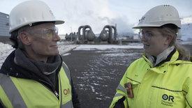 Ingenieure schrauben am Klima