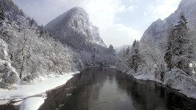 Wildes Wasser, blanker Fels - Nationalpark Gesäuse