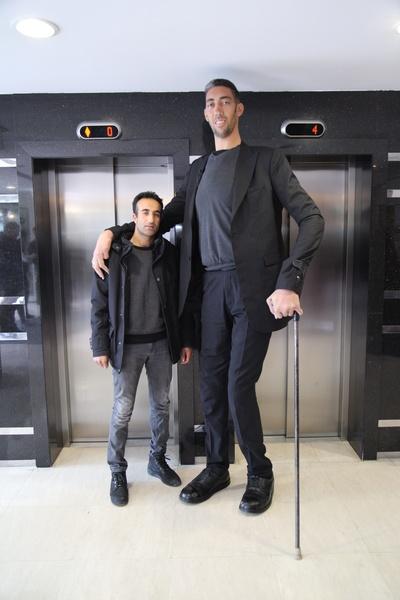 Auf die Größe kommt es an - Riesen