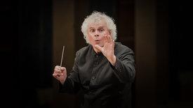 Sir Simon Rattle dirigiert Mahler und Ravel