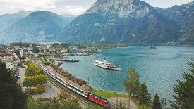 Traumhafte Bahnstrecken der Schweiz (1/4)