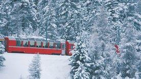 Traumroute durch die Alpen - der Bernina-Express