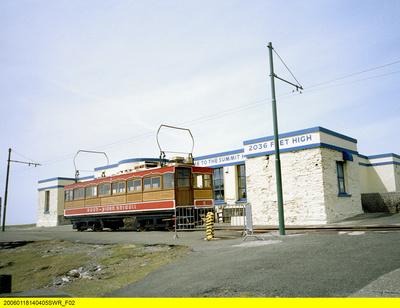 Mit dem Zug auf der Isle of Man