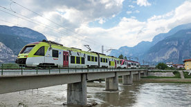 Die Nonstalbahn - Im Trenino durchs Trentino