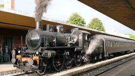 Mit dem Zug durch die Toskana