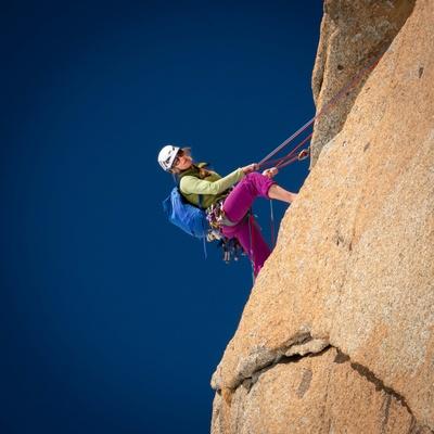 Die Bergführerin