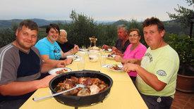 Zu Tisch ... in Istrien