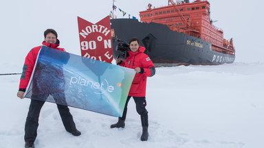 Planet E. - Planet E.: Seit Jahren Zieht Sich Das Eis Der Arktis Aufgrund Des Klimawandels Zurück. Eine Früher Unzugängliche Region Gibt Ihre Rohstoffe Frei. Der Kampf Um Die Besten Zugänge Tobt.
