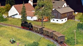 Vom Bockerl in Bayern in den Wilden Westen -<br/>Zwei Modellbahnen auf zwei Kontinenten
