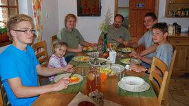 Zu Tisch ... in Masuren