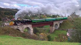 Dampfreise in die Karpaten