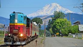 Zwischen Vulkanen und Pazifik - Museumsbahnen<br/>im Nordwesten der USA