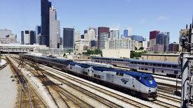 Im Zug von Chicago nach Kalifornien