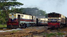 Schienenabenteuer Myanmar -<br/>Von Schlangen, Pagoden und Wahrsagern